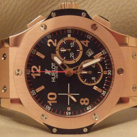 Hublot Big Bang rose gold ceramic replica